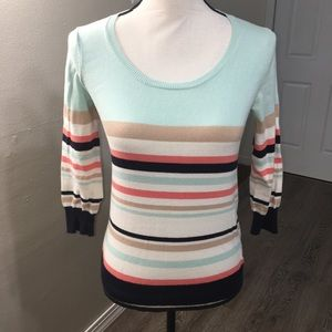 """Anthropologie HWR Blouse """"Striped """" XS"""